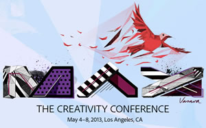 Adobe MAX User Conferene May 4-8 in Downtown Los Angeles